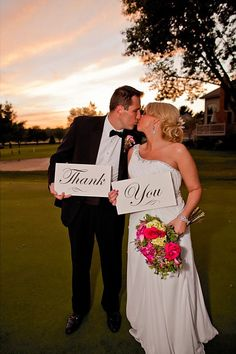 Wedding Photo Prop Thank You Sign Script Font and Custom Color for Your Wedding Photography on Etsy, $16.44 AUD