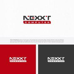 Nexxt computer   Logo & brand identity pack contest   99designs Brand Identity Pack, Brand Identity Design, Logo Design, Business Shirts, Business Names, Business Branding, Logo Branding, Computer Logo, Internet Logo