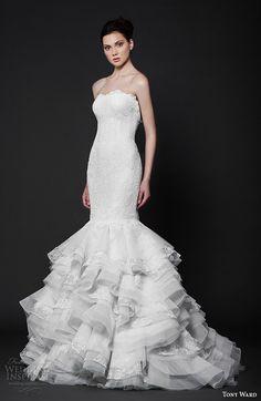 """Tony Ward 2016 Wedding Dresses — """"Abstract Roses"""" Bridal Collection   Wedding Inspirasi"""
