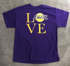 Los Angeles Lakers Love Unused Game Day T-shirt (size Xl) from $7.0