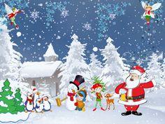 """""""Décor d'hiver"""" et """"Conte de Noël"""" - deux grilles de mots en ligne et suggestions d'activités"""