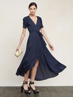 You know those long, lovely dresses you can put on and instantly feel amazing in with zero effort? The Lochness Dress is one of those. https://www.thereformation.com/products/lochness-dress-royal?utm_source=pinterest&utm_medium=organic&utm_campaign=PinterestOwnedPins