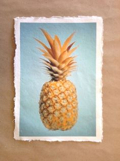 Tropical Pineapple Print by Finandivy on Etsy, $25.00