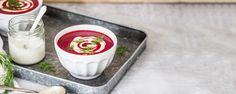 Cviklová polievka so smotanou