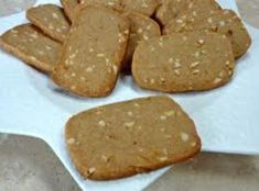 Dutch Windmill Cookie Slices Recipe - great texture, added more ground spices (b&w peppers, cardamom, fennel, mace and tsp each) (best cookie recipes for kids) Dutch Cookies, No Bake Cookies, Yummy Cookies, Icebox Cookies, German Cookies, Cooking Cookies, Spritz Cookies, Cookie Desserts, Cookie Recipes