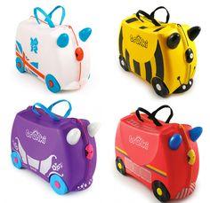 Las nuevas maletas para niños de Trunki