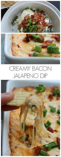Creamy Bacon Jalapeno Dip #ad #BigGameSnacks @Walmart (scheduled via http://www.tailwindapp.com?utm_source=pinterest&utm_medium=twpin&utm_content=post1515929&utm_campaign=scheduler_attribution)