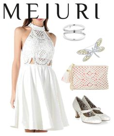"""dress"" by masayuki4499 ❤ liked on Polyvore featuring Lilly Pulitzer, Monsoon and CZ by Kenneth Jay Lane"