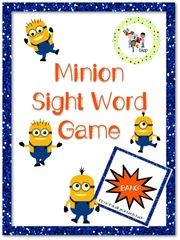 FREE! Minion Addition Board Games