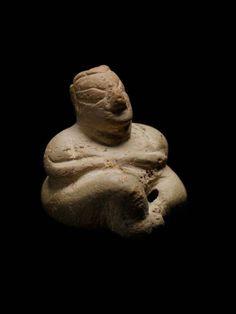 Mother Goddess Figurine    Turkey, 6000-5500 BC    The Museum of Fine Arts, Boston