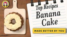 Best Ever Banana Cake