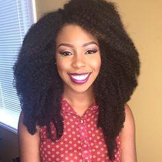 Love @BadGirlMo's big hair #CrochetBraids installed by #DMVStylist @PreshShow Flawless makeup done by #MUA @MakemydayMUA So pretty #VoiceOfHair ========================= Go to VoiceOfHair.com ========================= Find hairstyles and hair tips! =========================