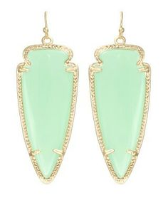These #KendraScott Skylar earrings in Chalcedony will look perfect with that sunkissed Greek goddess tan #KSadventure
