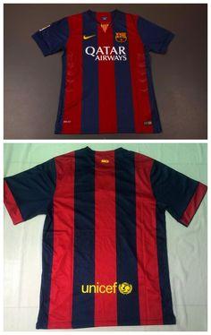 521e93f42e799 FC Barcelona 14 15 Home Soccer Jersey Barcelona Soccer