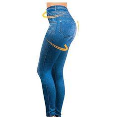 106637857a3 Plue Size S-XXL Women Fleece Lined Winter Jegging Jeans Genie Slim Fashion Jeggings  Leggings 2 Real Pockets Woman Fitness Pants - Affiliate Win