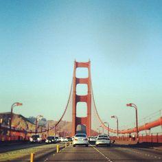 Doing the northbound thing. #sanfrancisco #marin #ggb #goldengatebridge #hittingtheroad