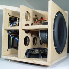 Construction of the Peerless XLS10 Subwoofer Enclosure.                                                                                                                                                                                 More