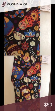 Lularoe leggings TC *Unicorn* Russian Dolls Lularoe *Unicorn* Russian doll print leggings! Size TC fits sizes 12-24. Super soft, buttery material. New with tag. Never worn, never tried on. LuLaRoe Pants Leggings