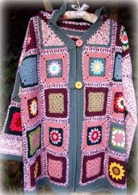 Omg, WANT! granny square jacket