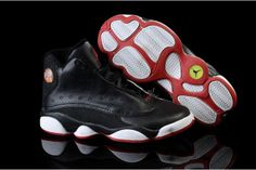 868c13c911fa5b Big Boys Shoes Air Jordan 13 with Black White and Red Style 55490 CAD95.97
