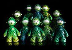 Muju Forest Guardians  Resin Sculpture - Miss Muju 2011