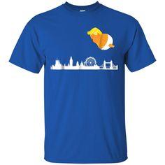 4e41610cc52 Awesome baby trump balloon london funny anti trump t shirt - 99promocode  Anti Trump T Shirts
