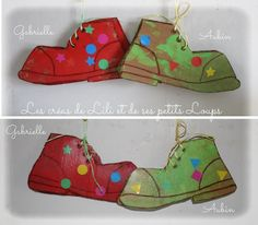 Les chaussures de clown Circus Crafts, Circus Art, Circus Theme, Fun Crafts, Arts And Crafts, Carnival Activities, Activities For Kids, Clown Cirque, Mardi Gras