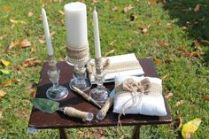 Rustic Burlap Wedding Package......unity by JorgeiaWeddingEvent, $175.00