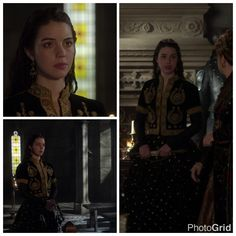Mary's Black and Gold Dress 3x14: To The Death