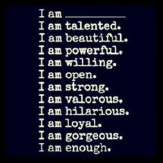 I'm what I'm.