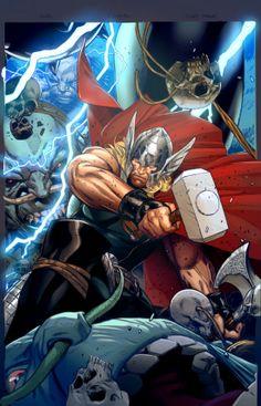 Thor by Clay Mann