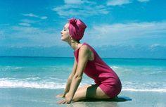 1958 swimwear fashion in Cuba. from LIFE.