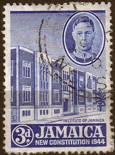 Jamaica 1945 New Constitution SG 136 Fine Used Scott 131 Other Jamaican Stamps HERE Take a LOOK
