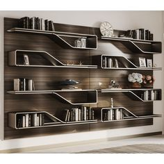 You can joint multiple Library Mark Bookcase to create a bookcase in various sizes. It comes with matt lacquered wood, in glossy ebony with satin brass finish or Henne Oakwood shelves. Home Office Setup, Home Office Design, Home Interior Design, Interior Decorating, Tv Furniture, Furniture Design, Plywood Furniture, Black Bedroom Design, Tv Cabinet Design