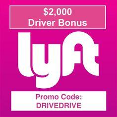New $2000 Lyft Driver Bonus - San Diego - http://therewardboss.com/new-2000-lyft-driver-bonus-san-diego/