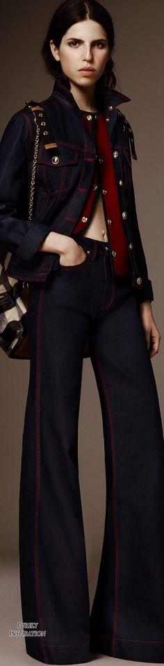 Burberry Pre-Fall 2016 Women's Fashion RTW | Purely Inspiration