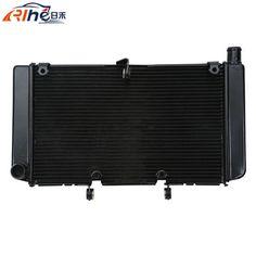 110.92$  Buy here - http://ali3xp.worldwells.pw/go.php?t=32522664126 - new motorcycle radiator cooler aluminum motorbike radiator black For Honda CB600 HORNET CBF600 2008 2009 2010 2011 2012 2013 110.92$