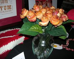 I will be making these delights for Vday- candied bacon roses..what man wouldnt love them