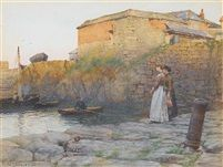The last gleam by Walter Langley