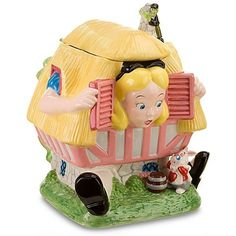 Disney Store Larger-than-Life Alice in Wonderland Cookie Jar by Disney Store, http://www.amazon.com/dp/B003JMT9V2/ref=cm_sw_r_pi_dp_H4V.rb1Q2R2CE