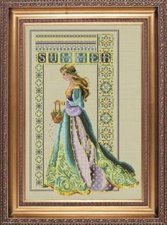 Celtic Summer by Lavender and Lace - Cross Stitch Kits & Patterns