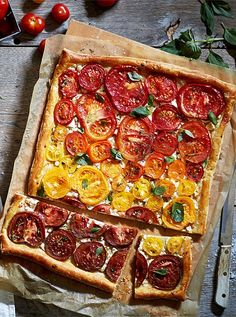 Fall in Love with This Heirloom Tomato Pastry Recipe