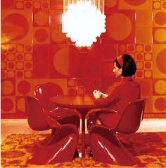 ヴェルナー・パントン Verner Panton ミッドセンチュリーの空間、家具、光を操るデザイナー   BIRD YARD