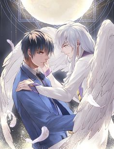 CardCaptor Sakura ~~ Fate has bound their souls together throughout eternity regardless of their physical forms :: Touya and Yue