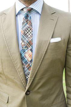 Summer Cotton Suit | Men's Fashion | Menswear | Moda Masculina | Shop at designerclothingfans.com