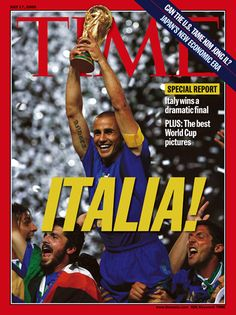 A photograph of the Italian national team celebrating their World Cup victory on July 9, 2006 ... Most beautiful magazine cover to ever exist... FORZA ITALIA PER SEMPRE, NEL BENE E NEL MALE!!!! <3