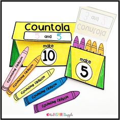 This math craft is perfect for using with students in pre-K, kindergarten, first grade, and second grade who are working on adding within twenty. It aligns with Common Core Standard CCSS.MATH.CONTENT.1.OA.C.5C and will fit into your math curriculum activities for teaching students to add within twenty.  There are options for adding within five and within ten, specifically.  It's fun, engaging, and simple to do!