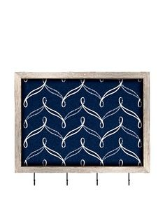 65% OFF PTM Images Nautical Cork Key/Jewelry Organizer with Cork Backing, Dark Nautical Blue
