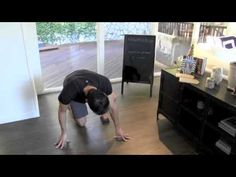▶ Push Up Pikes (Sliders) - YouTube   #MaxWorkOuts
