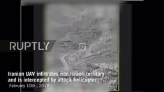 Israel: Footage of intercepted Iranian drone released by IDF  Mandatory Credit: Israeli Defence Force  A video of an Iranian drone being intercepted over Israeli territory as well as Iranian control vehicle being targeted by the Israeli Defence Force was released by the organisations Spokesperson and Head of Social Media on Saturday.  The footages release follows previous IDF reports of Israel recently intercepting an Iranian drone entering into its territory from Syria.  Subscribe to our…